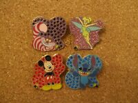 Spotlight Pins w/Jewels Set of 4 Disney Collection 2006 Complete LE 1000 Cute