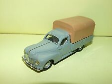 PEUGEOT 203 PICK UP BACHÉ LEADER Sans Boite 1:43
