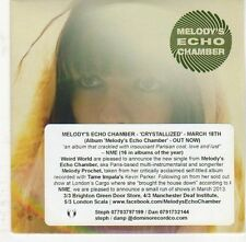 (EJ723) Melody's Echo Chamber, Crystallized - 2013 DJ CD