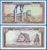 LIBANON / LEBANON  10 Livres 1986  UNC  P.63 f