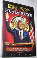 Head of State DVD, 2003, Full Frame, Bernie Mac FREE SHIPPING U.S.A.