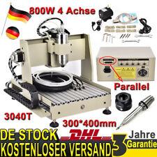 4 Achse CNC Router Gravurmaschine 3D Fräsmaschine Graveur 3040T Graviergerät DE