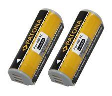 2 x Akku für Canon IXUS 1000 HS, 1100 HS, 500 HS, 510 HS - NB-9L