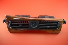 E2 98-03 Jaguar XJ8 XJR VandenPlas WOOD Center Dash Vent Assembly GND6770AB