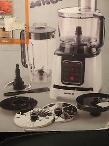 Breville Intelligence Food Processor 800W 8Pre-programmed Functions 8Speed/Pulse