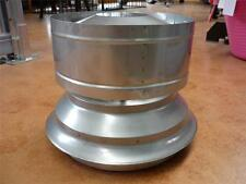 "WOOD HEATER WINDLESS ANTI DOWNDRAFT FLUE HAT COWL STAINLESS STEEL 6"" - 10"" B/New"