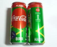 COCA COLA Coke Can MALAYSIA 330ml FIFA World Cup RUSSIA Collect 2018 BRAZIL