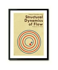 Structural Dynamics Of Flow by Leslie Claret Patriot inspired Art Print