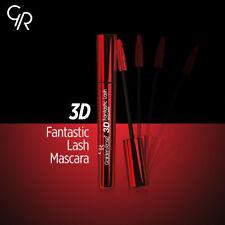 Golden Rose 3D Fantastic Lash Mascara for Eyelash 3D effect BLACK Mega Volume