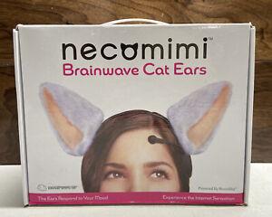 Necomimi Brainwave Controlled Cat Ears White Neurowear