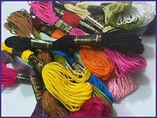 25 ButterFly Hilo Algodón Punto de Cruz/Trenzado / Madejas Craft Sólido Colores