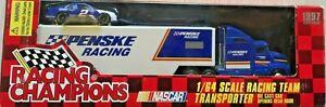 1997 RACING CHAMPIONS PENSKE RACING TRANSPORTER #2 RUSTY WALLACE