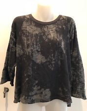 Dries Van Noten - Black distressed sweatshirt - Size M