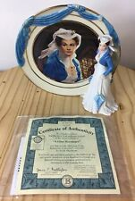 Gone With The Wind A Close Encounter Bradford Exchange Plate Figurine #A3476