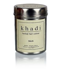 Khadi Herbal Black Henna Hair Color Unique Formulation 150 Gram Fast Shipping