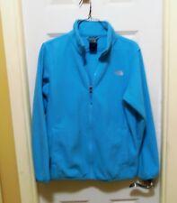 North Face Fleece Jacket Girls Size XL 18  Full Zip Blue