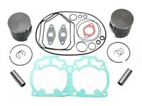 Ski-Doo MXZ 700 Pistons Top End Gasket Kit 2000 2001 2002 2003 Std Bore 78mm
