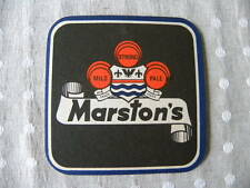 Vintage Marstons Beer Mat 1980`S
