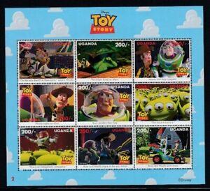 UGANDA Toy Story II MNH sheetlet