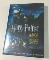 Harry Potter Complete 8-Film Collection ( DVD 8-Disc Region 1 ) Fast Shipping