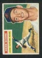 1956 Topps #140 Herb Score EX/EX+ RC Rookie Indians 83990