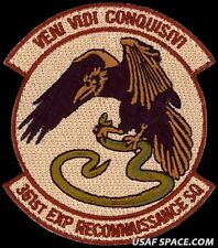USAF 361st EXPEDITIONARY RECONNAISSANCE SQ - MQ-1 Predator ATTACK DRONE PATCH