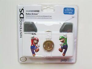 Mario & Luigi Nintendo DS Lite Robo Armor Protective Hard Case Shell Bros OEM