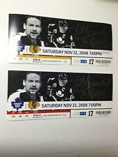 Toronto Maple Leafs two rare retirement game hockey game tickets