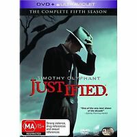 Justified : Season 5 (DVD, 3-Disc Set) NEW