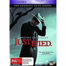 Justified: season 5 DVD. R4 AUSTRALIAN DVD.