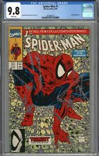 Spider-Man #1 CGC 9.8 NM/MT Todd McFarlane Story and Art WHITE PAGES