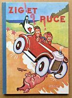 ZIG et PUCE T.1 En ROUTE pour L'AMÉRIQUE ! / Saint Ogan - 1995 Fac-similé EO TBE