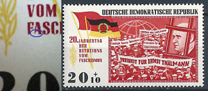 DDR Befreiung MNR 1105 PF nach Schrage  postfr