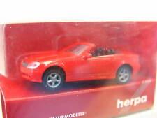 Herpa 022910 Mo SLK Roadster neuf dans sa boîte (n5290)