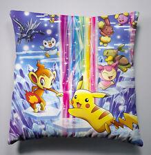 Neu POKEMON Pikachu Anime Kissen Sofakissen Dekokissen Pillow Cushion 40x40CM b1