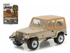 1993 JEEP WRANGLER SAHARA HOBBY EXCLUSIVE 1/64 DIECAST MODEL BY GREENLIGHT 29815