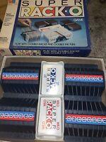 Vintage 1983 Super Rack-O Game Milton Bradley Complete