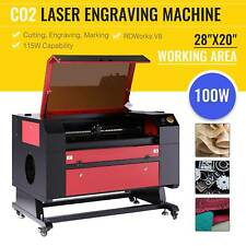 Omtech 100w 28x20 Co2 Laser Engraver Cutter Engraving Cutting Machine Ruida