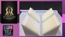 "Acoustic Foam Bass Trap Soundproof Studios Corner Wall 4 Pack - 12""X 12""X 12""."