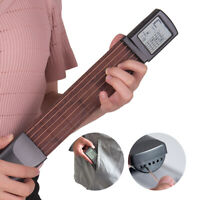 6 String Portable Guitar Acoustic Practice Tools Instrument Chord Trainer I0H1