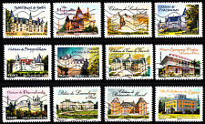 France 2012 Castles and Masions Part 2 Complete Set of Stamps P Used S/A