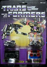 Transformers Ravage & Rumble G1 MOSC