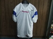 New England Patriots jersey Rawlings fitted medium white stitched