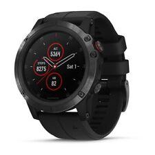 Garmin Fenix 5X Plus GPS Watch - Sapphire Black with Black Band