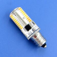 10pcs E12 Candelabra C7 LED Light Microwave Bulb 80 3014 SMD Lamp 3000K 120V