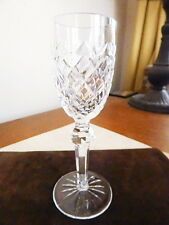 Waterford Crystal POWERSCOURT Sherry Wine Glass Goblet Stem (S)  - NICE!