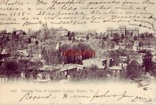 pre-1907 General View Of Lafayette College, Easton, Pa. 1906