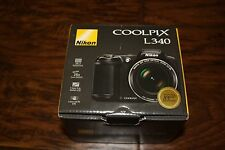 New Nikon Coolpix L340 20.2 MP Digital Camera 28x Optical Zoom & 3.0-Inch LCD