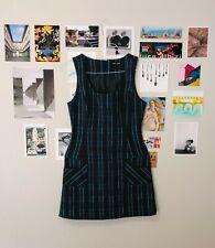 Vintage Guess Jeans Brand Plaid Dress, Size Medium