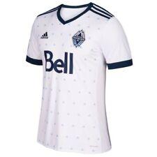 Camisetas de fútbol de clubes internacionales de manga corta blancos adidas